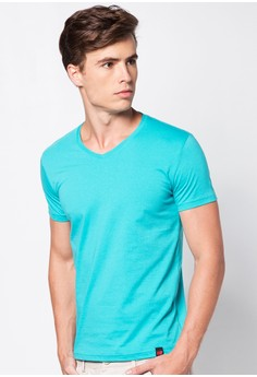 V-Neck Plain Shirt