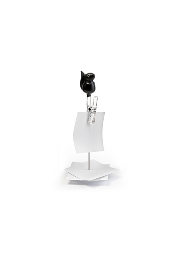 Qualy Qualy Note Squirrel Note Holder (Black) 6944FHL2895268GS_1