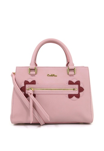 Carlo Rino pink Carlo Rino 0304138A-001-24 Top-handle bag (Soft Pink) 3B74EAC9B4C8E6GS_1