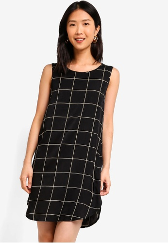 ZALORA BASICS multi Basic Sleeveless Shift Dress 6A371AA8730FCEGS_1