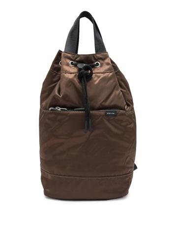 niko and ... brown Plain Shoulder Bag 1D179ACFD7E622GS_1