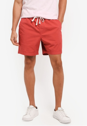 J.Crew red Dock short in stretch chino F0B82AA491EE99GS_1