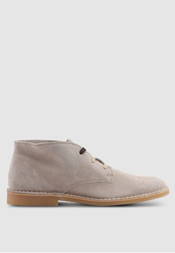 Selected Homme beige Royce Desert Suede Boots 16469SH14C6653GS_1