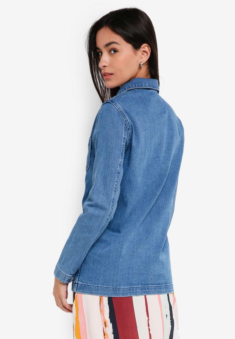 ICHI Hiroma Jacket Blue Jacket Mid Mid Hiroma ICHI ICHI Jacket Hiroma Blue ICHI Mid Blue qTRtg