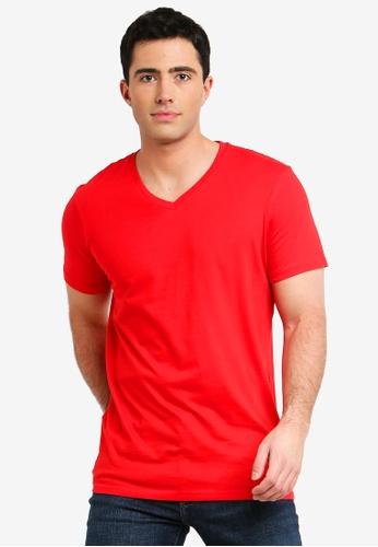 Cotton On 紅色 休閒T恤 2685FAAC786272GS_1