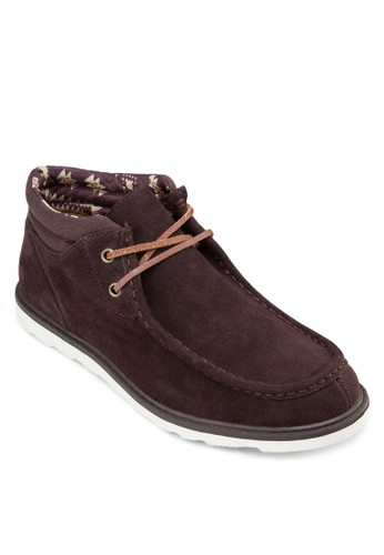 Marsesprit高雄門市hall 雙眼繫帶短靴, 鞋, 靴子