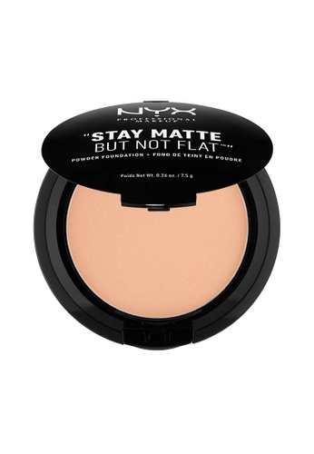 NYX Professional Makeup beige NYX Professional Makeup Stay Matte Powder Foundation- WARM E4675BE3DC4EBDGS_1