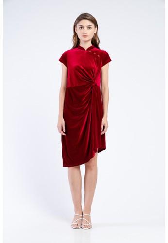 MILLE Jadie Suede Dress 9BA97AA2C5B356GS_1