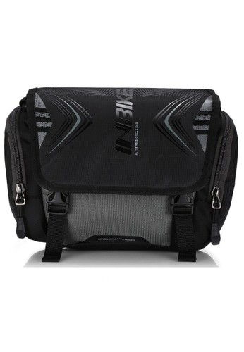 Baellerry black Tas Sepeda Multifungsi Sporty Bicycle Bag Waterproof Material Oxford 9 ORIGINAL 9EA97ACBF0D2FAGS_1