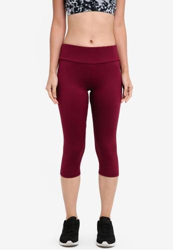 AVIVA red Capri Pants 31D1CAA72FC683GS_1