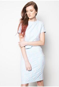 Serenity plus Rose Set Dress