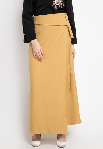 OMARA yellow Sabrina Skirt FE576AA3A57910GS_1