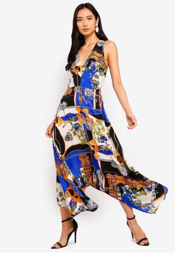 21f47f8966 Buy AX Paris Scarf Print Maxi Dress | ZALORA HK