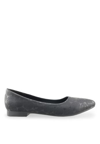 Footspot black FOOTSPOT - Pointed Toe Flats FO296SH77ZUGHK_1
