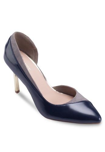 Madiesprit 請人son Colorblock Heels, 女鞋, 厚底高跟鞋