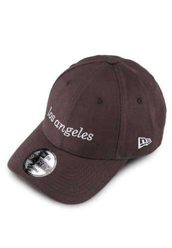 New Era 黑色 940 棒球帽 8BE6AAC856FE77GS_1
