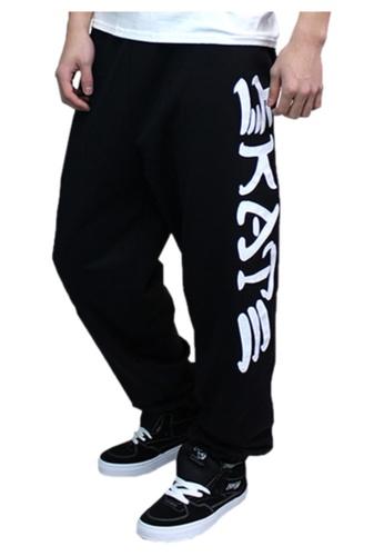 307c412f4fad Thrasher black Thrasher Skate   Destroy Sweatpants Black 0D549AAA247EA2GS 1