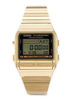 DB-380G-1DF Illuminator 方框電子鍊錶