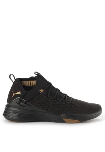 Puma black Mantra Fusefit Desert Shoes 3C33DSHA096C08GS_1