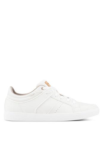 ALDO white Agrosien Sneakers B9D61SH92BC9F6GS_1