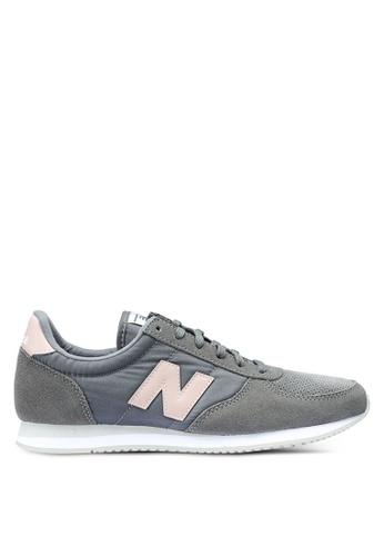 New Balance grey 220 Lifestyle Shoes 106C2SH7EEAA33GS_1