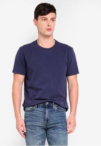 J.Crew 海軍藍色 休閒T恤 95361AAB7264A7GS_1