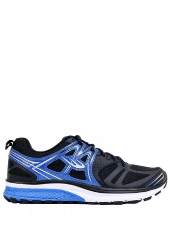 World Balance black and blue Rapid Trainer MS Running Shoes 58557SHE8A802EGS_1