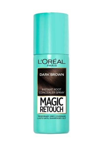 L'Oréal Paris brown L'Oreal Paris Magic Retouch Dark Brown 7A5F1BEB01C1A6GS_1