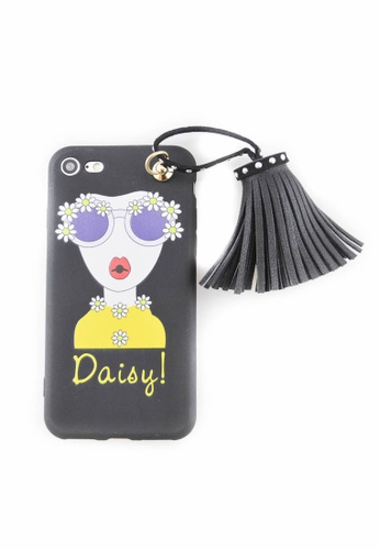 Fancy Cellphone Cases multi Daisy Soft Case for iPhone 7 FA644AC0JY53PH_1