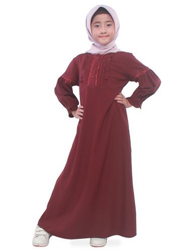 ZOYA red BELVI GIRL DRESS A3CD4AA73A1D71GS_1