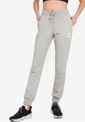 Hummel grey Noni Regular Pants 2E081AAD86AE69GS_1