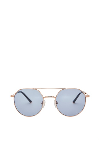 Carin blue and multi and gold Mods C3 Sunglasses FEAD8GL11421ECGS_1