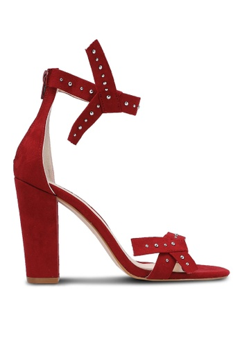 Something Borrowed red Bow Studded Heels E6210ZZ295454CGS_1