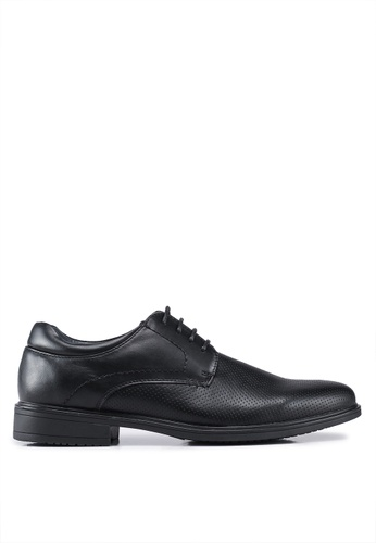 Bata black Lace Up Business Shoes 42433SHA1298DFGS_1