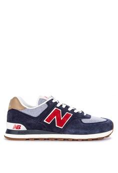 e2f975831a0 New Balance multi 574 Classic Suede Mesh Sneakers 83DBASH18D279DGS 1