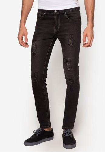 修身窄管牛仔褲, 服飾, esprit旗艦店牛仔褲
