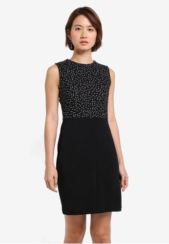 ZALORA black Pencil Dress 840BFAACED58E9GS_1