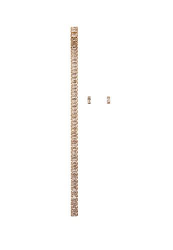 Mango gold Mixed Earrings Set D10ACAC4219D8EGS_1