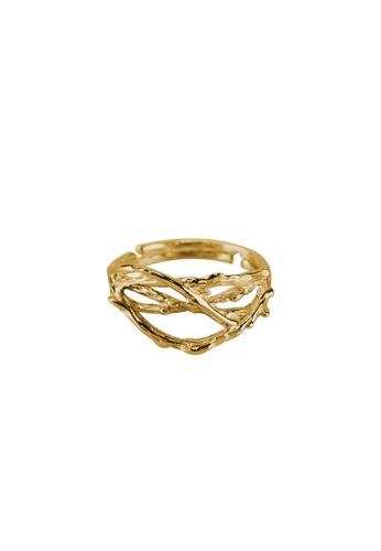 LYCKA gold LDR1275 S925 Silver Retro Vintage Ring 92491ACCC454B9GS_1