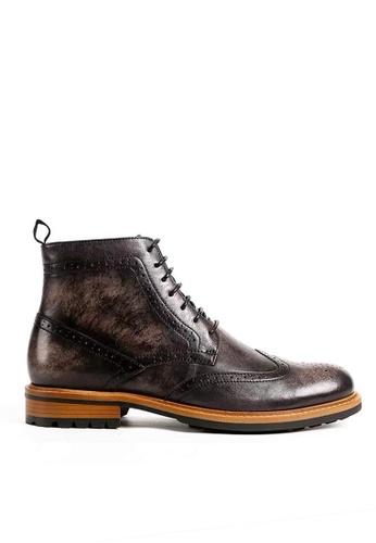 Twenty Eight Shoes Bittter Vintage Leather Brogue Boot G03-11 CE06BSH6E52E70GS_1