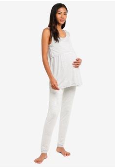 de50ca8ad2 JoJo Maman Bébé Maternity 2-Piece Jersey Pyjama Set RM 269.00. Sizes S M L  · SMROCCO black Silk ...
