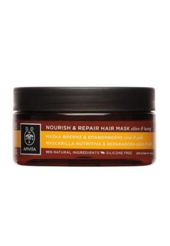 APIVITA Apivita Nourish & Repair Hair Mask 200ml 55C4FBE0468460GS_1