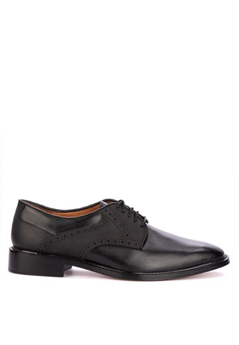 Bristol Shoes black Brockton Two-tone Black Derby 20155SH2BC0C29GS_1
