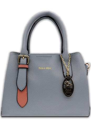 Polo Hill blue Top Handle Handbag Blue 832DBACC908164GS_1