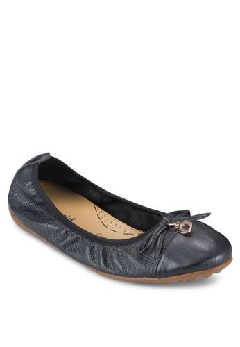Katty IV 金飾蝴蝶結平底鞋, 女鞋京站 esprit, 鞋