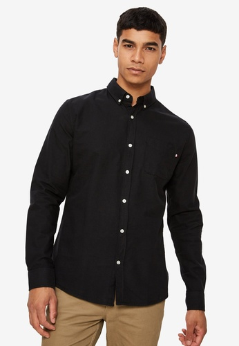 Cotton On black Brunswick Shirt CO372AA0SSAEMY_1