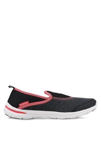 Power black Athletics Walking Shoes 96075SHC421667GS_1