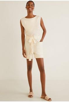 045f03ec9d15 22% OFF Mango Tassle Shorts RM 177.90 NOW RM 139.00 Sizes XS S M L