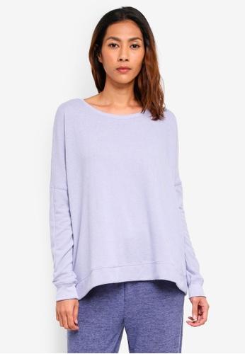 Cotton On Body blue Super Soft Lounge Top FEABBAADA4CEC3GS_1