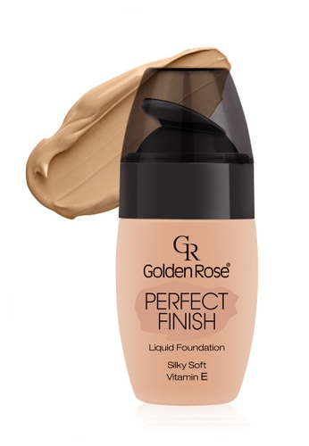GOLDEN ROSE yellow PERFECT FINISH LIQUID FOUNDATION - #62 GO743BE07FLSMY_1